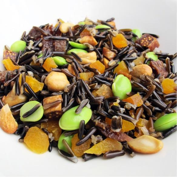 Arroz salvaje con frutos secos - Lovely Gourmet