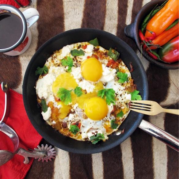 Huevos Rancheros- Lovely Gourmet