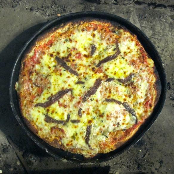 Pizza, horno a leña, Lovely Gourmet