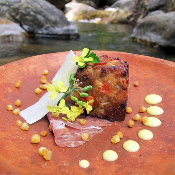trout cake- crocante de trucha- lovely gourmet