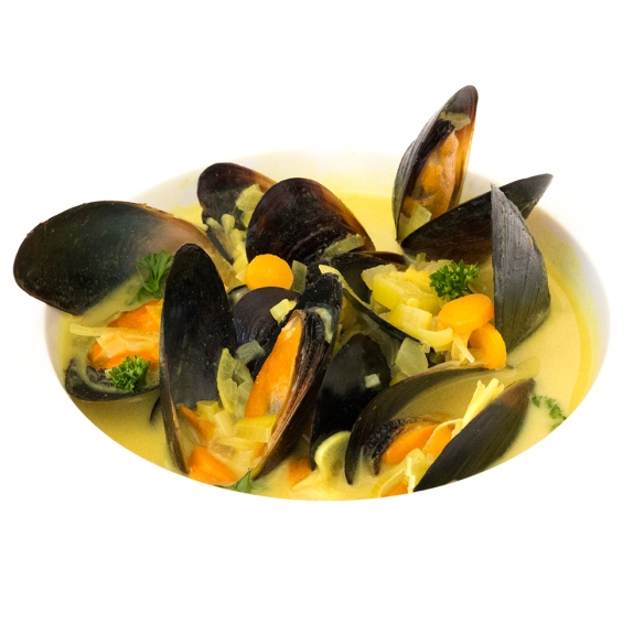 Mejillones al curry, lovely gourmet